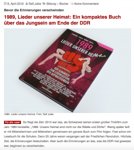 Presse Www 1989 Unsere Heimat De